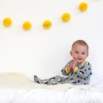 Organic Cotton – Penguin Babygrows 2 Pack